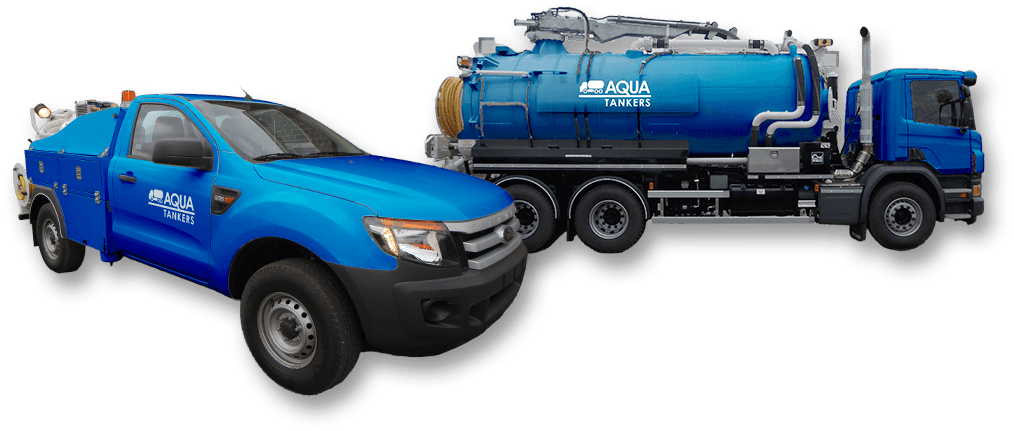 Aqua Tankers blocked drain vehicles in London